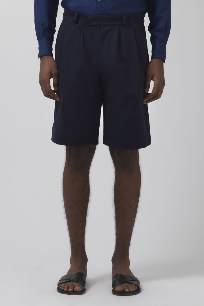 Army navy organic cotton shorts