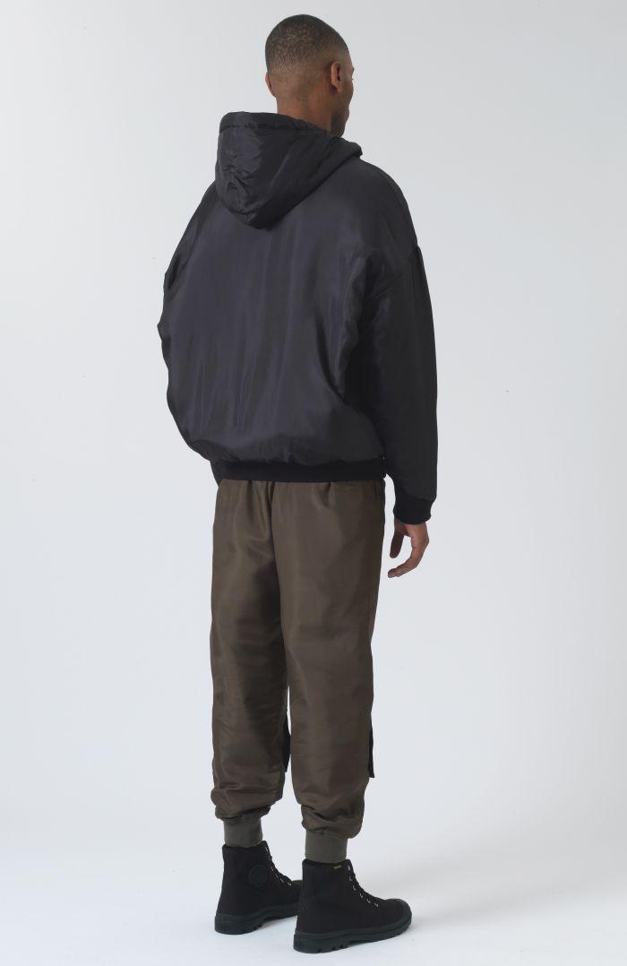Sean Black Silk Jacket