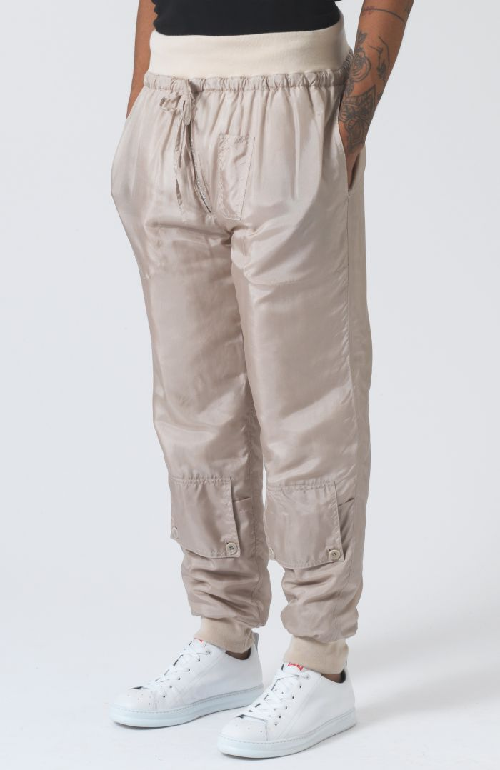 Paddy Sand Silk Trackpants