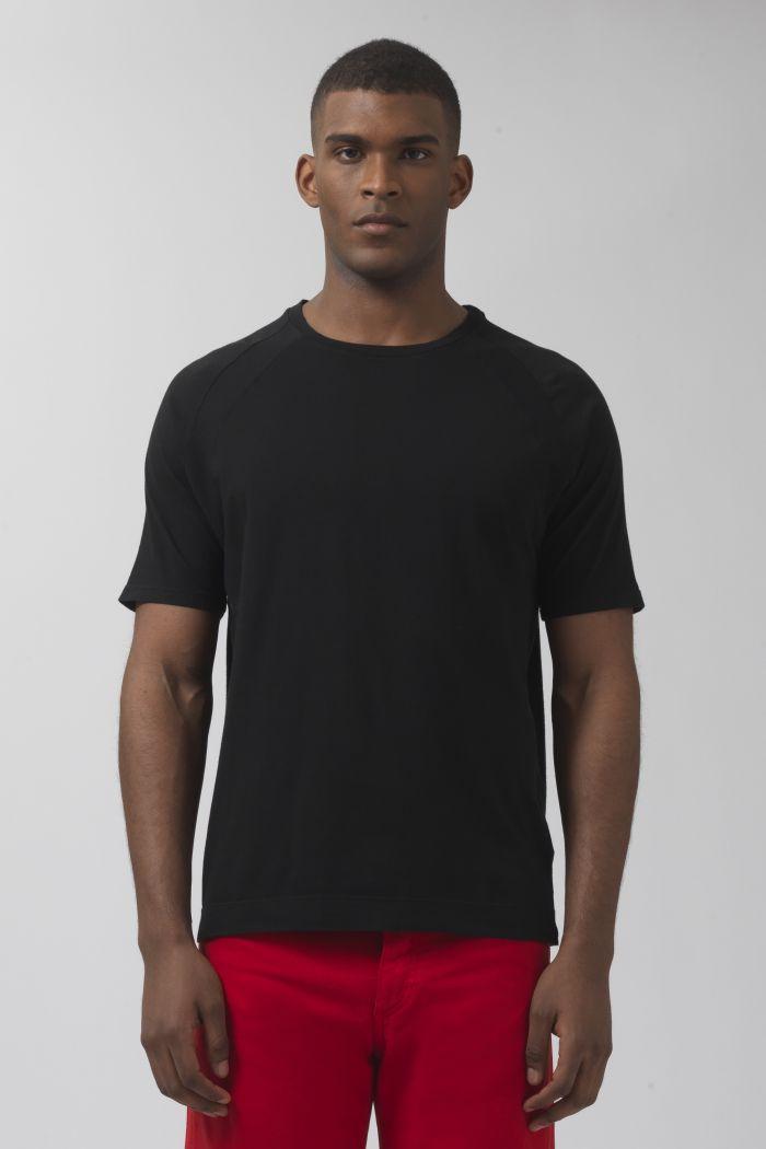 Nino black organic cotton t-shirt