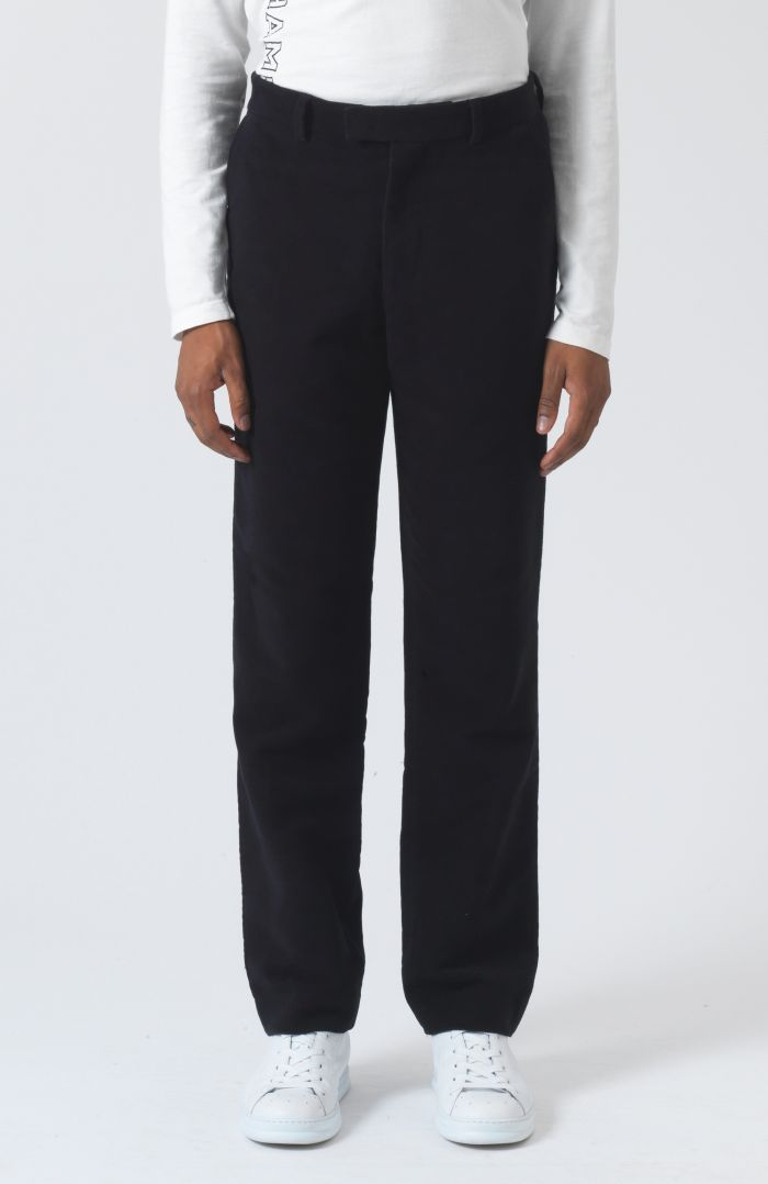 Roger Navy Organic Cotton Trousers