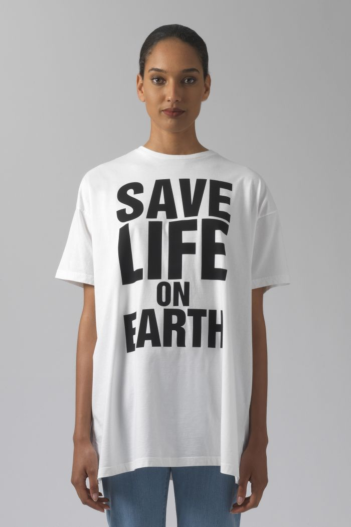 SAVE LIFE ON EARTH OVERSIZED T-SHIRT