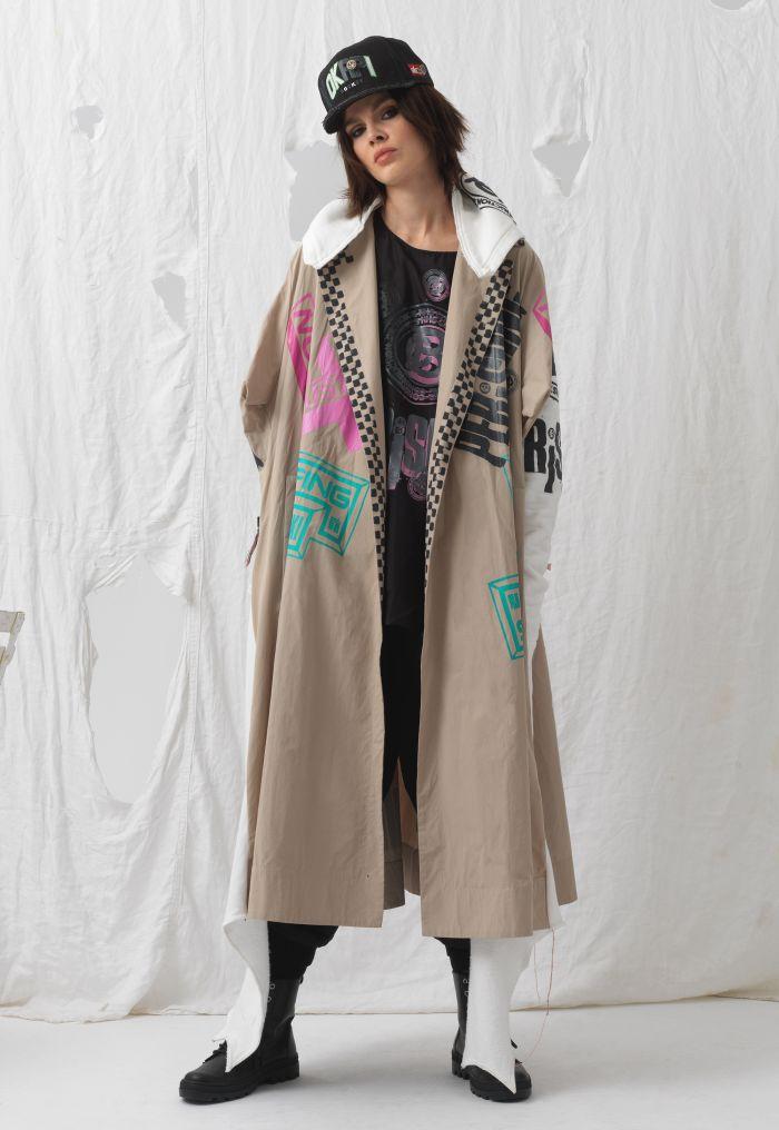 Upcycled Oversized Coat