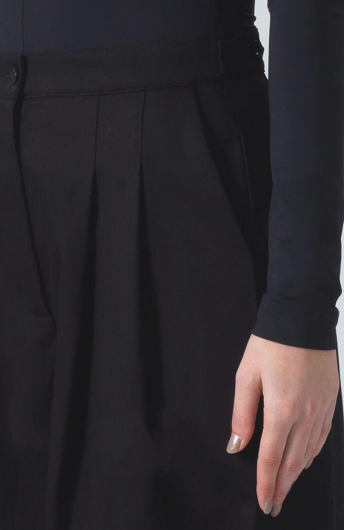 Ella Black Organic Cotton Trousers