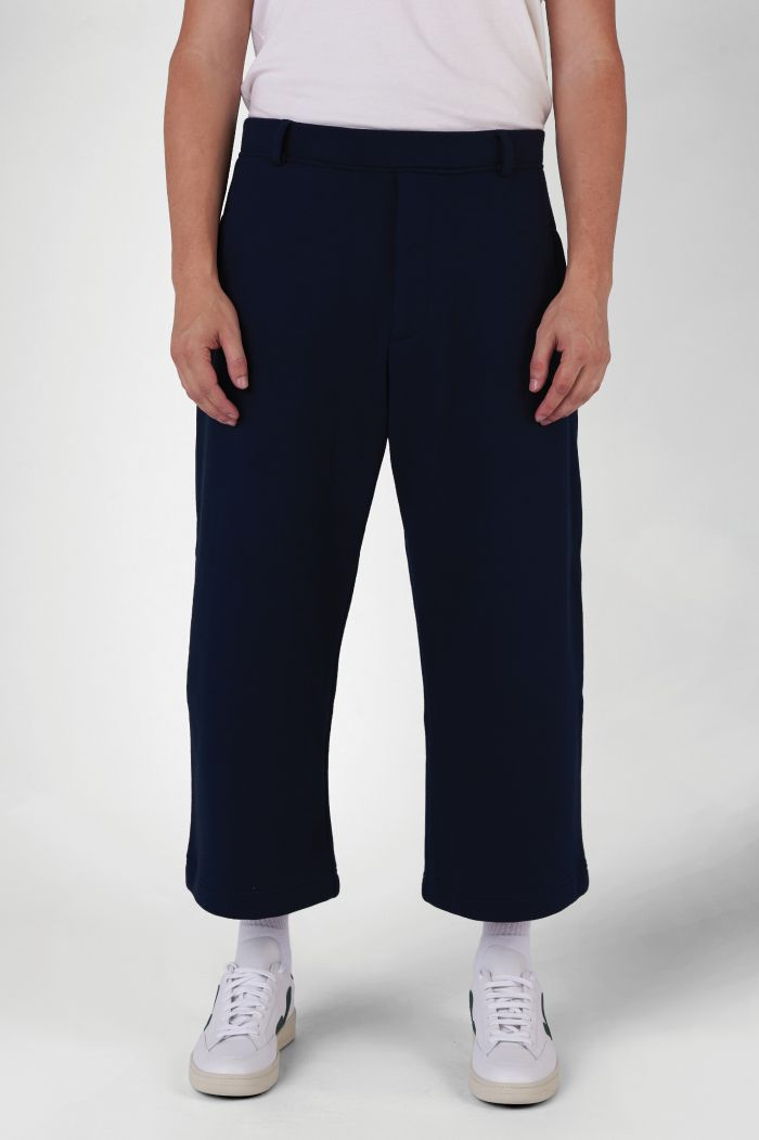 Marc Navy Organic Cotton Trackpants