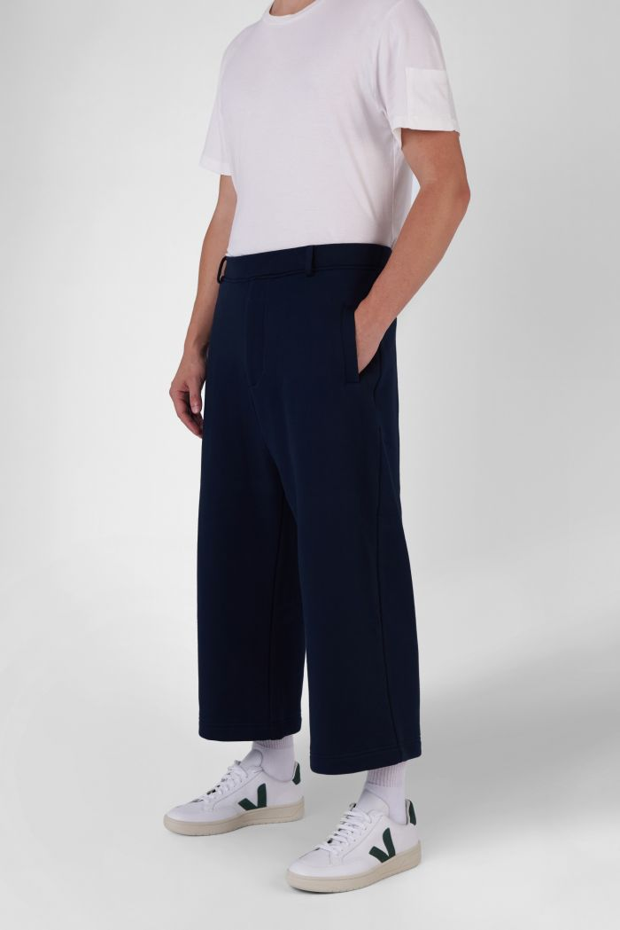 Marc Navy Organic Cotton Trackpants