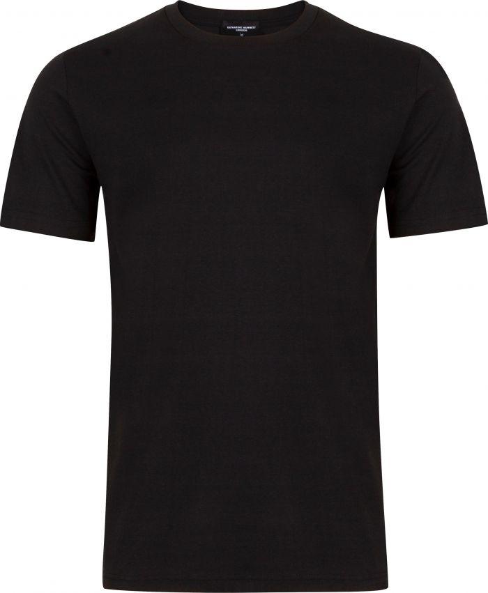 CHOOSE SLOW ORGANIC COTTON BLACK T-SHIRT