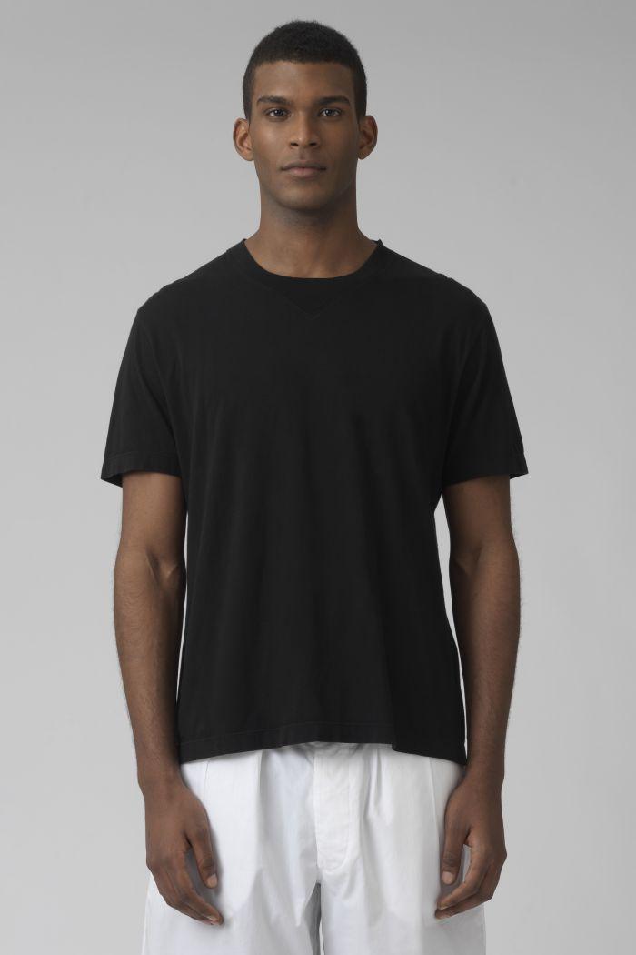 Ivanoe black organic cotton t-shirt