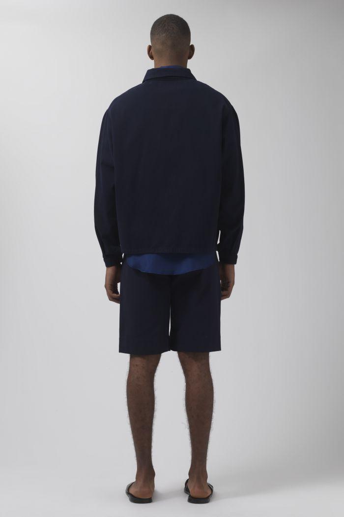 Army navy organic cotton shorts