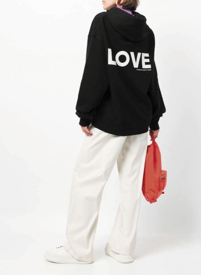 LOVE ORGANIC COTTON HOODIE