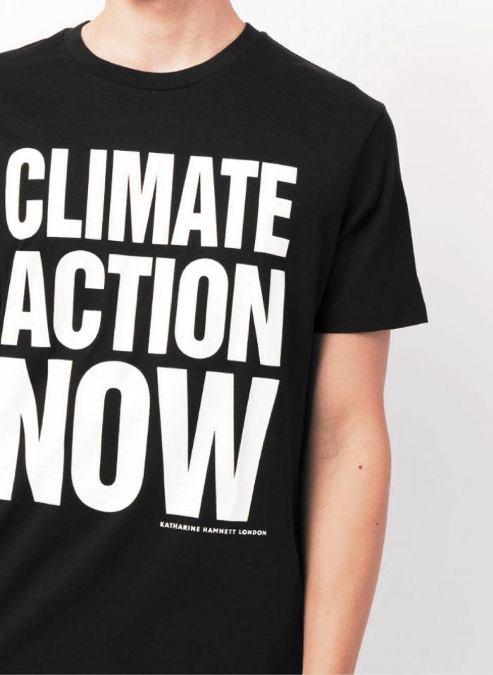 CLIMATE ACTION NOW ORGANIC COTTON T-SHIRT