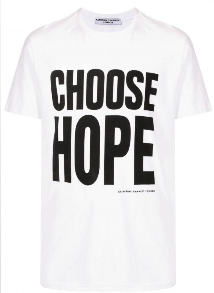 CHOOSE HOPE ORGANIC COTTON T-SHIRT