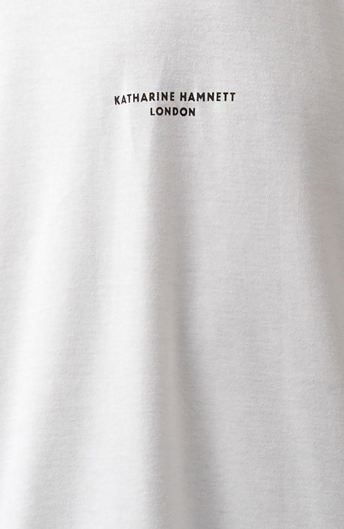 Robbie White Organic Cotton Logo T-shirt