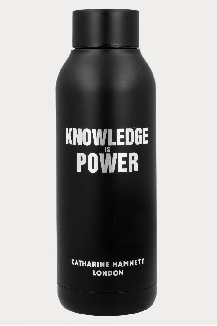 KNOWLEDGE IS POWER THERMAL BOTTLE