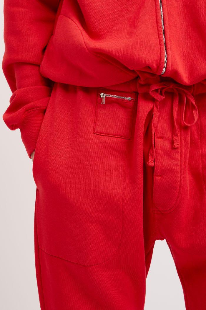 Redford Red Organic Cotton Onesie