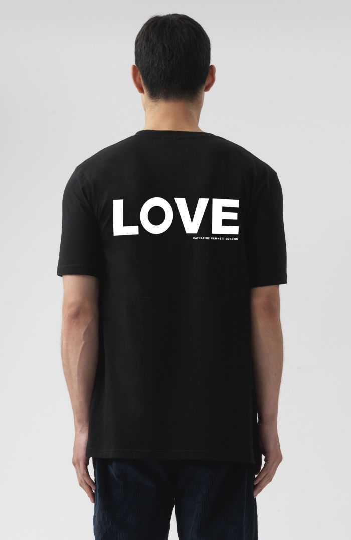 LOVE ORGANIC COTTON T-SHIRT