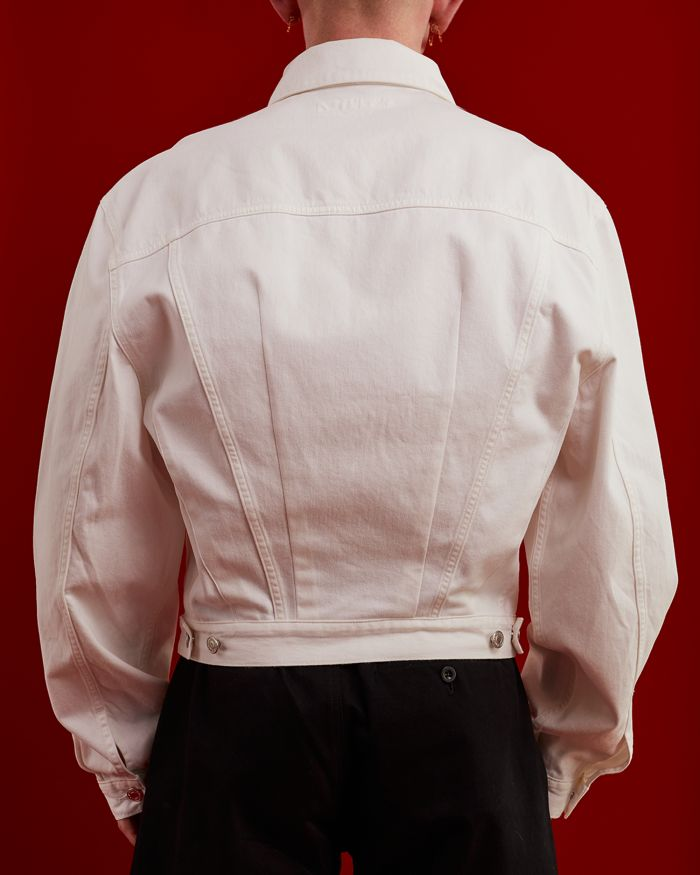 REWORKED TED WHITE JACKET
