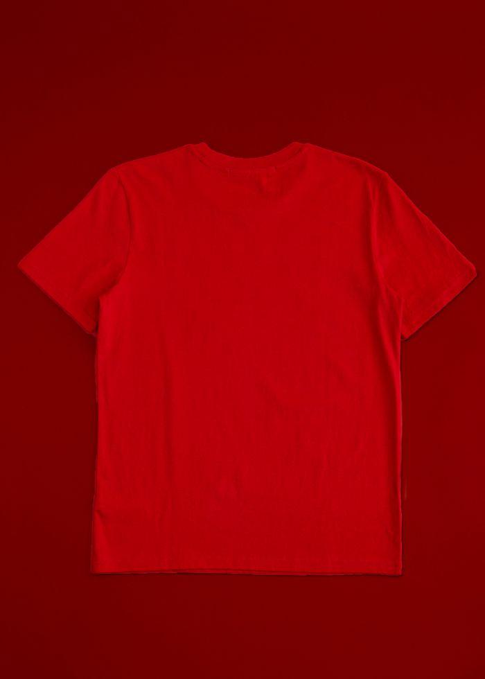 HELP ORGANIC COTTON RED T-SHIRT