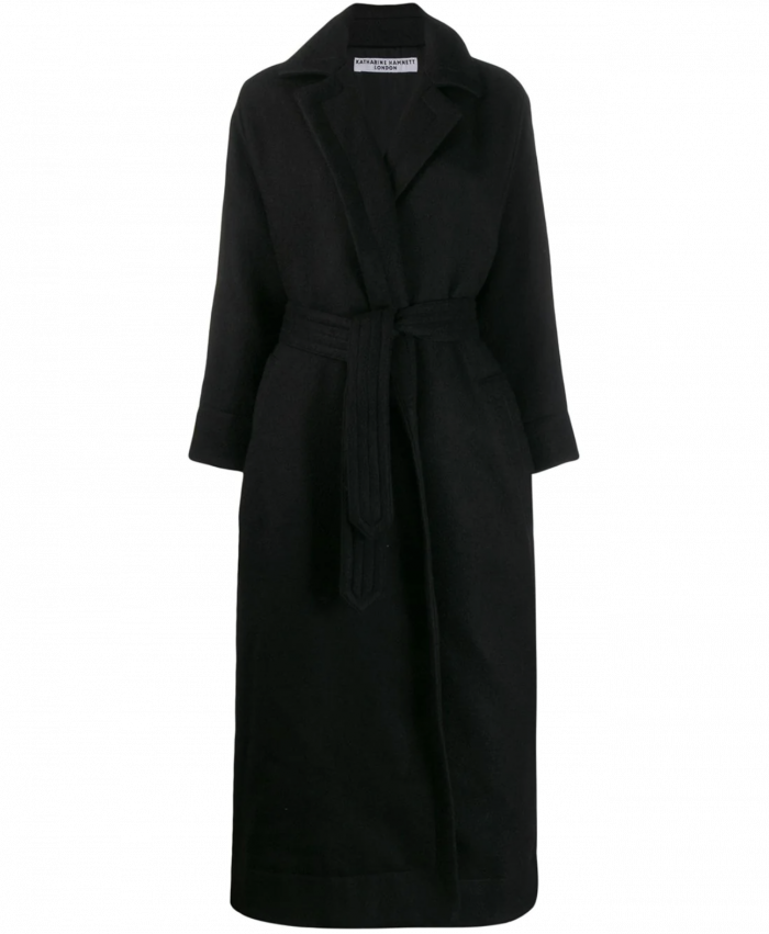 Manola Black Wool Coat