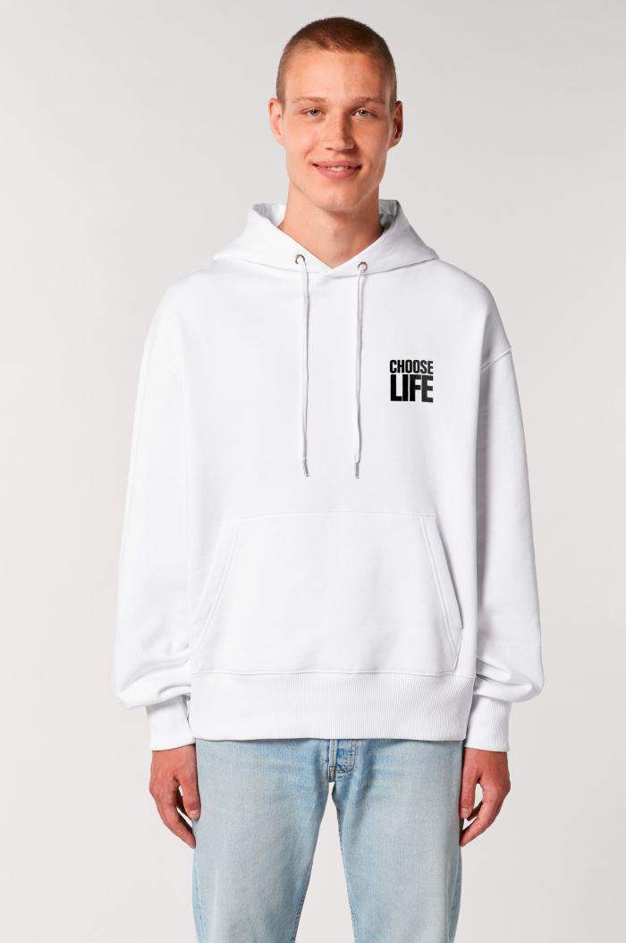 CHOOSE LIFE ORGANIC COTTON HOODIE