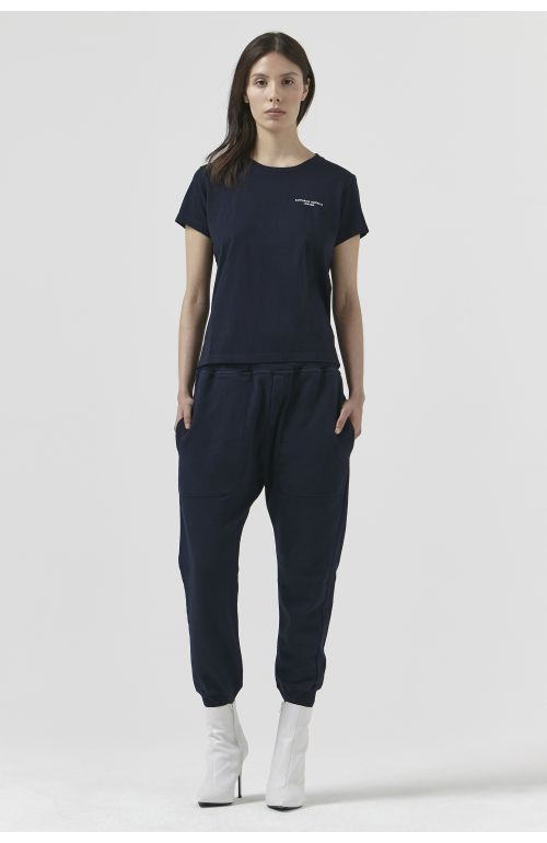 Tom Navy Organic Cotton Track Pant