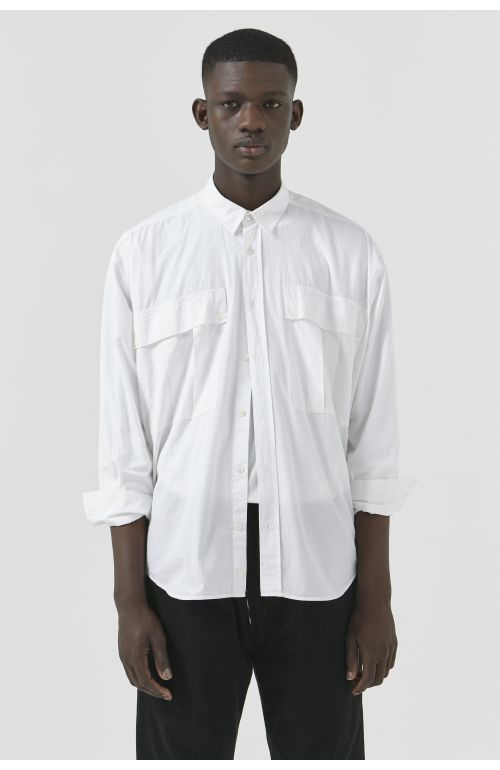 Alex White Organic Cotton Shirt