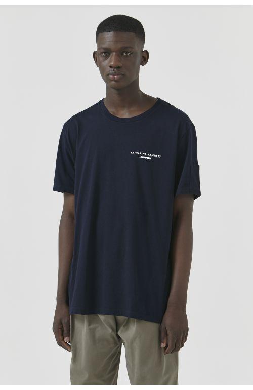 Ivan Navy Organic Cotton T-Shirt