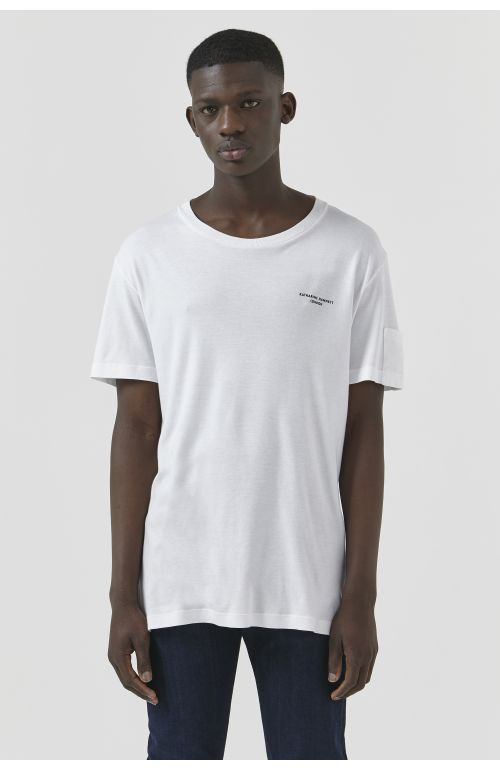 Ivan White Organic Cotton T-Shirt