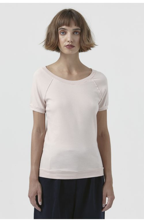 Katlin Pink Organic Cotton T-Shirt