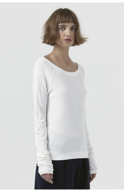 Caterina White Organic Cotton T-Shirt
