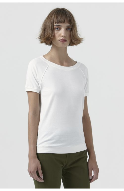 Katlin White Organic Cotton T-Shirt