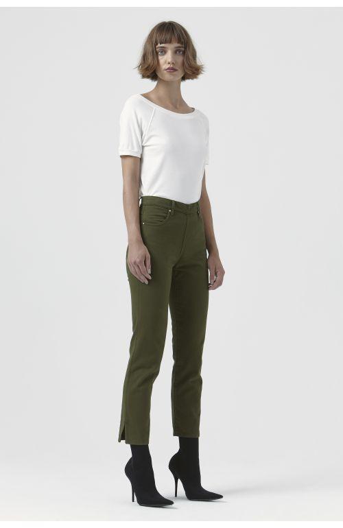 Rodeo Khaki Organic Cotton Trousers