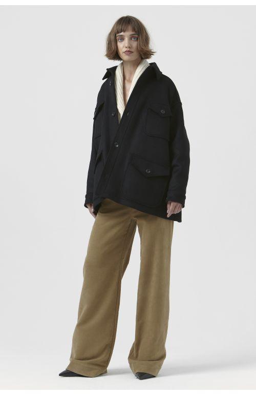 Kate Black Recycled Wool Jacket