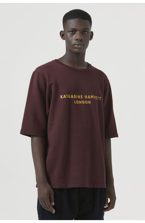 George Burgundy Organic Cotton Sweatshirt