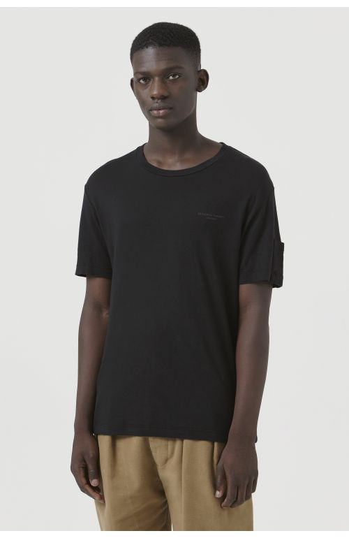 Ivan Black Organic Cotton Logo T-Shirt