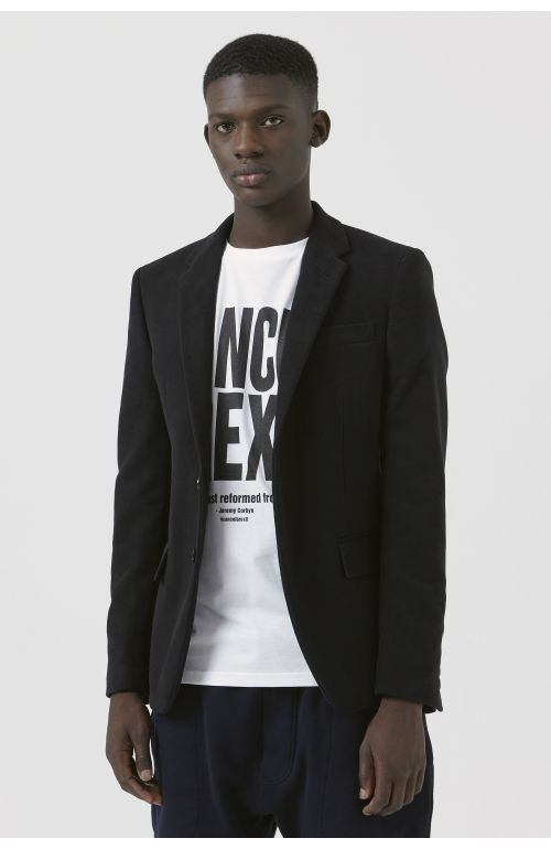 Rufus Black Organic Cotton Blazer