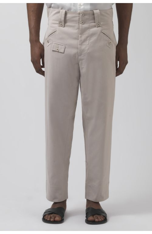 Rider Stone Organic Cotton Trousers
