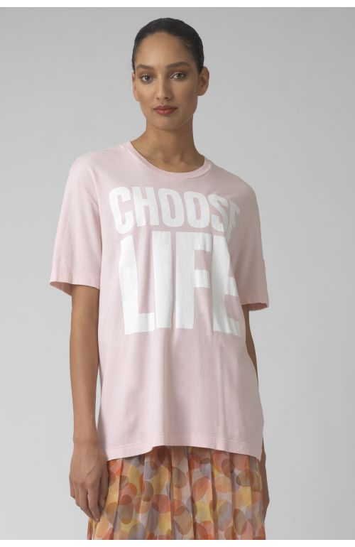 Choose life AZALEA Organic cotton t-shirt