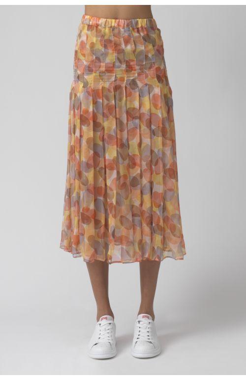 Freya pastel chiffon skirt