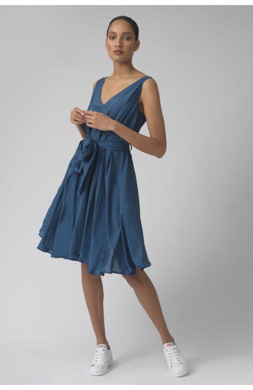 Dorina sugar silk dress