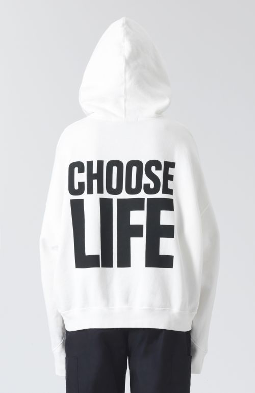 Georgia Choose Life White Hoodie