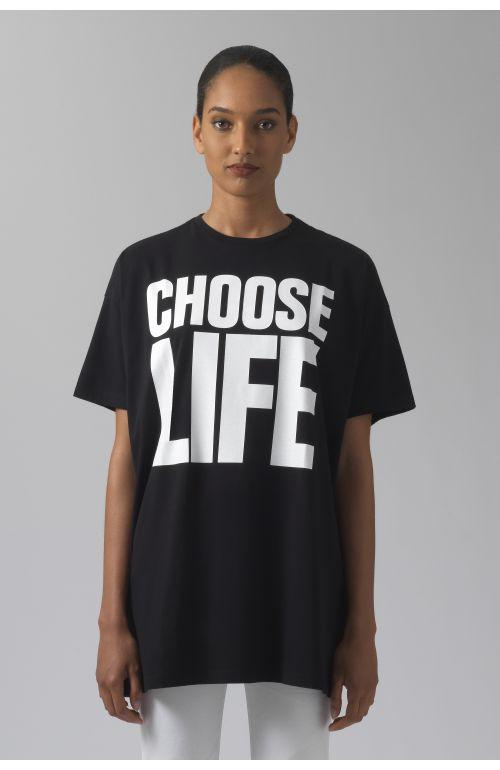 CHOOSE LIFE OVERSIZED T-SHIRT