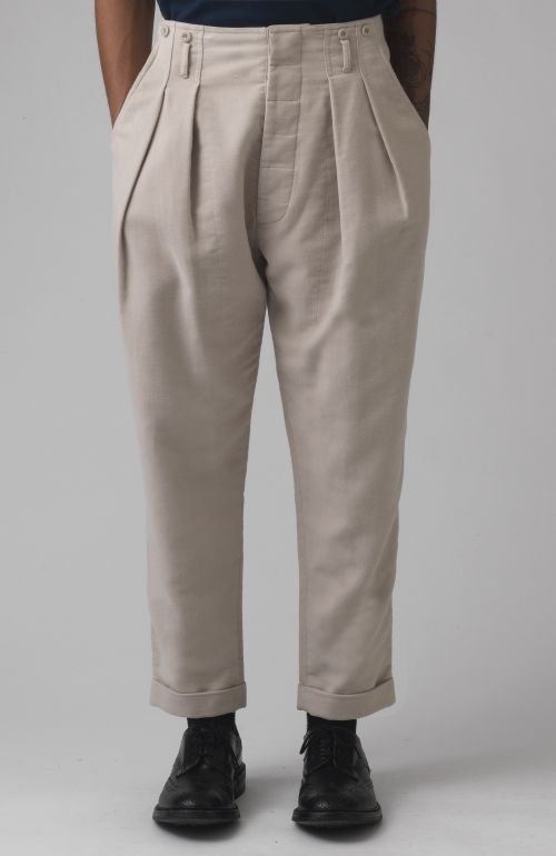 Brace Stone Organic Moleskin Trousers