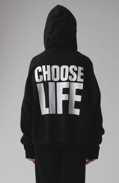 Georgia Choose Life Black Hoodie