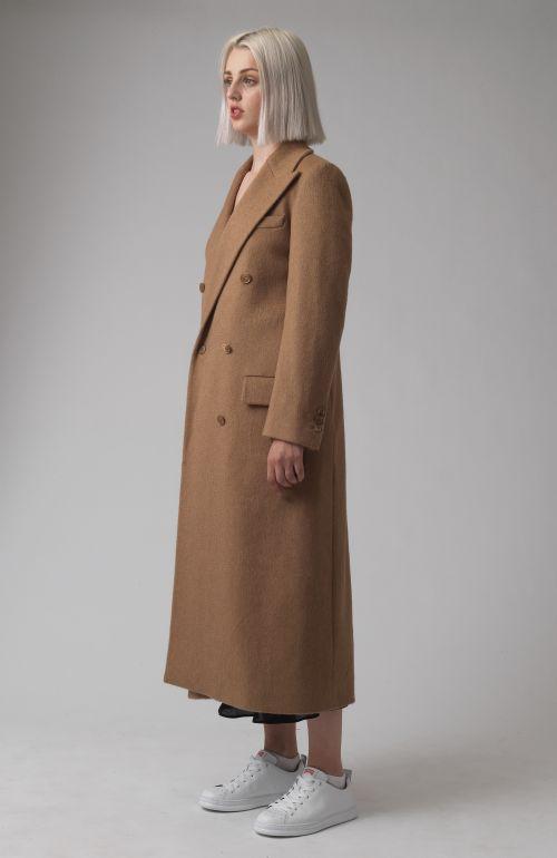 Simona Regenerated Camel Hair Coat