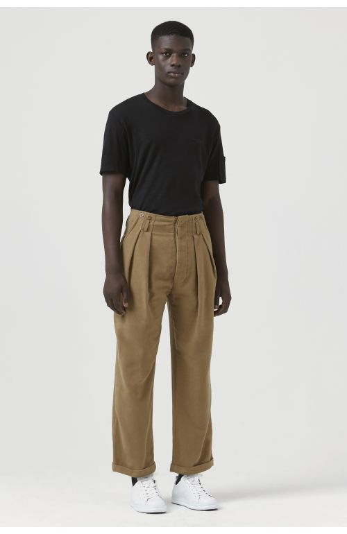 Ace Camel Organic Cotton Trousers