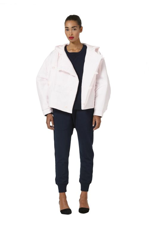 Julie Silk Bomber Jacket