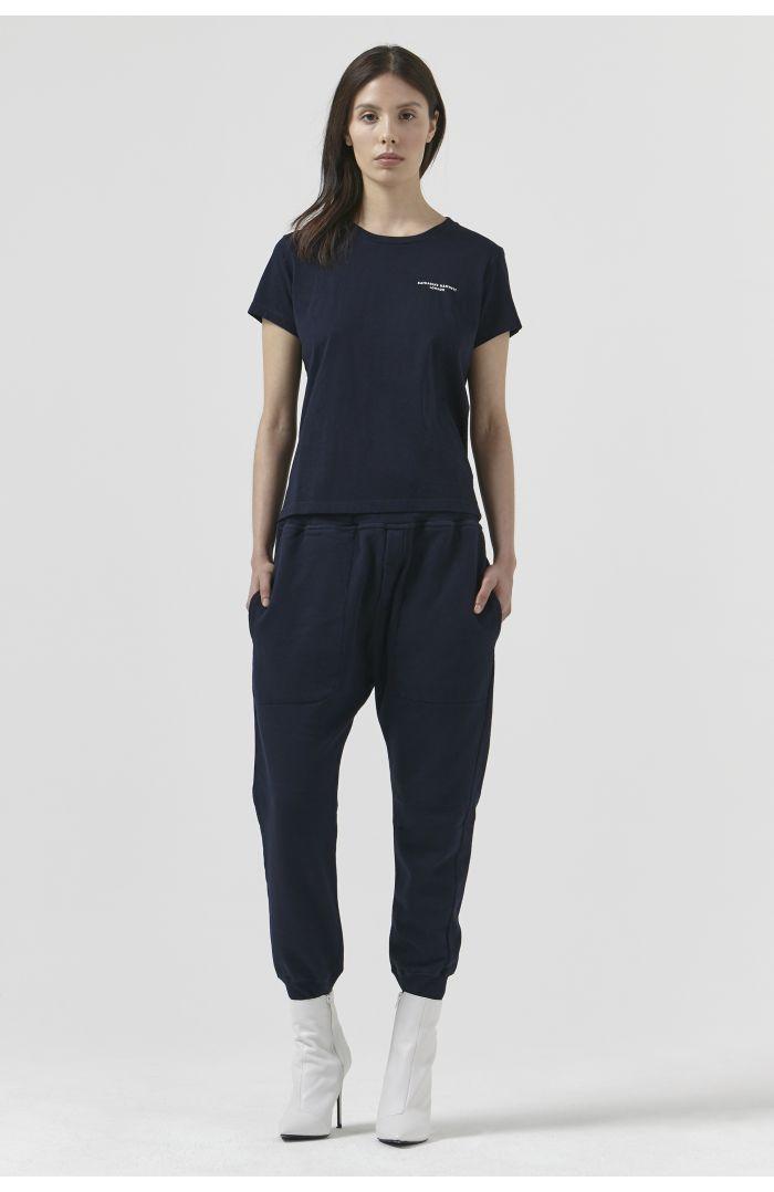 Tom Navy Organic Cotton Track Pant