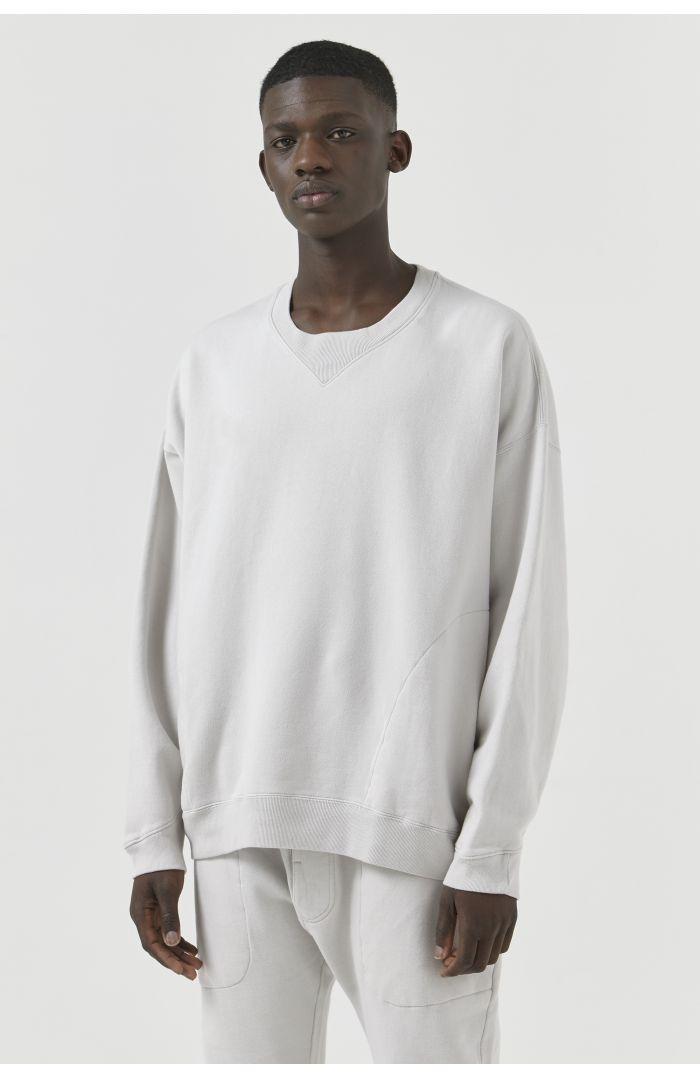 Vince Organic Cotton Stone Sweatshirt