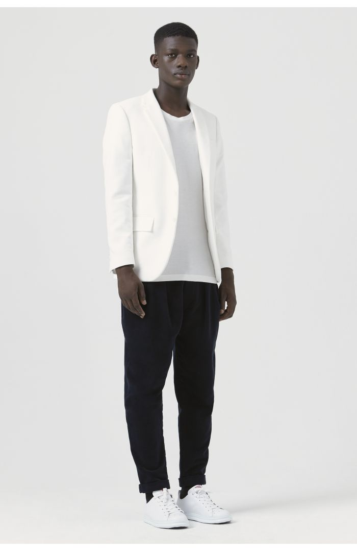 Rufus White Organic Cotton Blazer